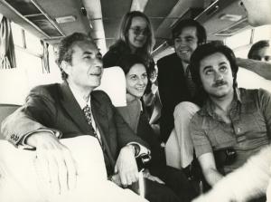 Aldo Moro in gita con i suoi studenti